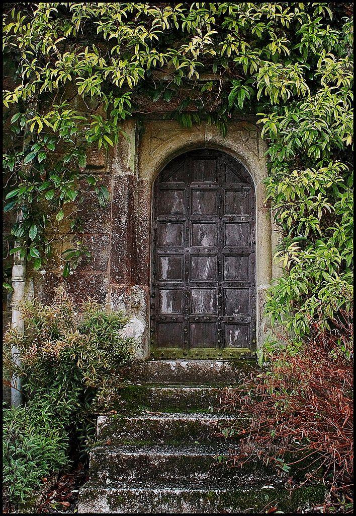 Garden door at Lanhydrock House Cornwall England by Beccy Melling & Garden door at Lanhydrock House Cornwall England by Beccy ... pezcame.com