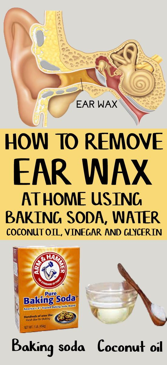 how to soften ear wax at home