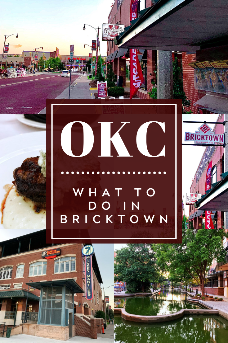 100 Things To Do In Oklahoma City Okc By District Bricktown 100 Things To Do Downtown Okc Boathouse District