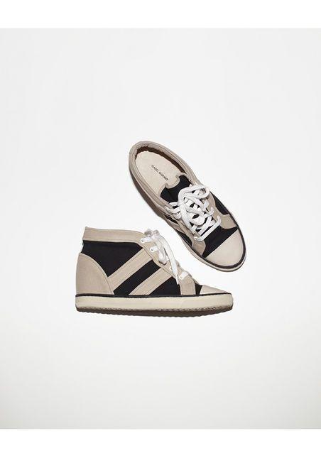 Isabel Marant Baltimore sneaker via TresChicNow.com