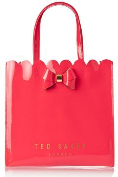 4a03f14994 Ted Baker Bags - Ted Baker Scalcon Scalloped Detail Bow Large Shopper Bag -  Mid…