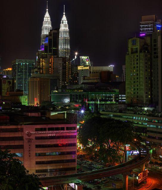 Kuala Lumpur Golden Triangle, Malaysia