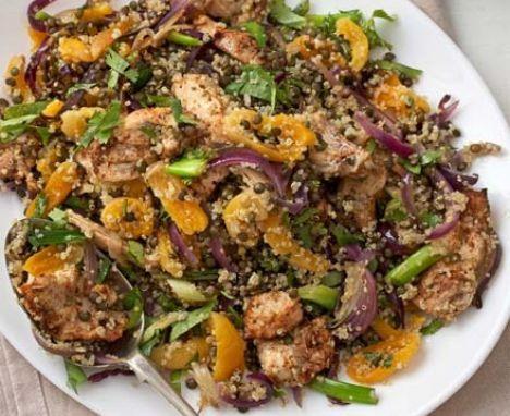 Moroccan turkey meatballs with citrus couscous recipe pinterest bbc good food forumfinder Gallery