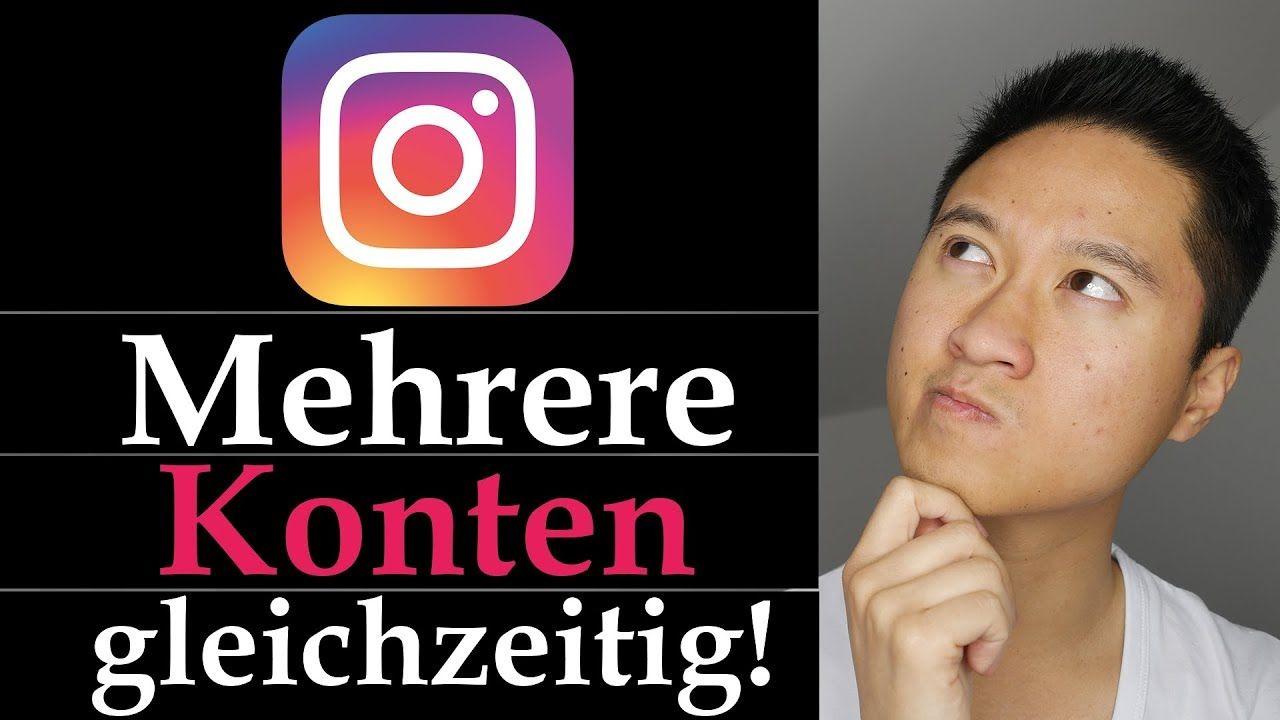 Instagram Konto hinzufügen Mehrere Instagram Accounts