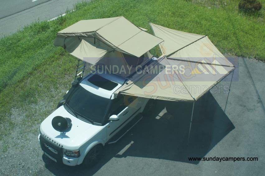 Hot Item Car Camping Rooftop Tent Wholesales Price Car Awnings Caravan Awnings Roof Tent