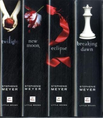 all twilight books
