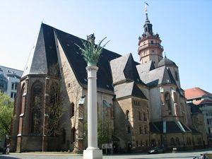 Nikolaikirche Leipzig Germany Leipzig Germany St Nicolas