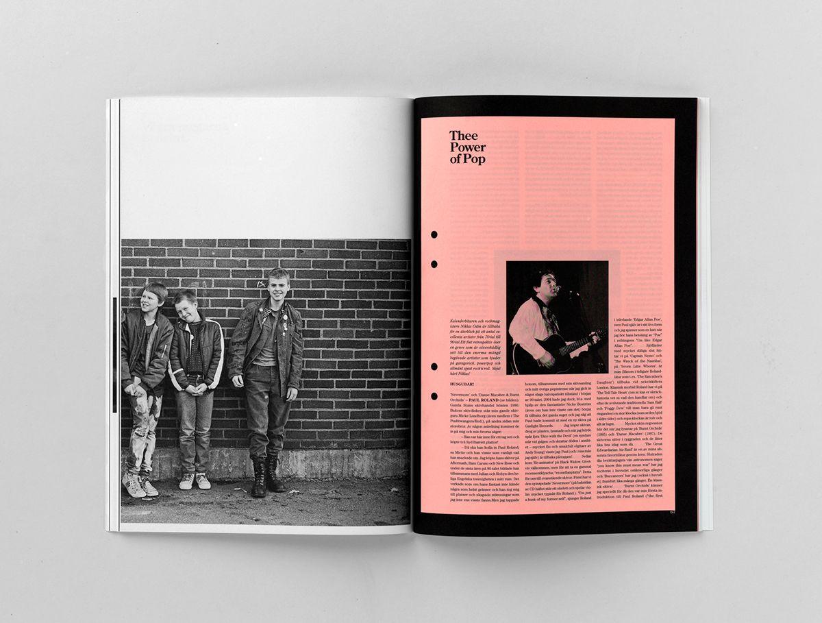 Ettnollett Magazine on Behance