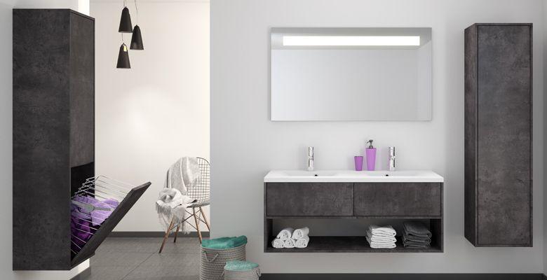 Meubles de salle de bain MARNY | Allibert France | Salle de bains ...