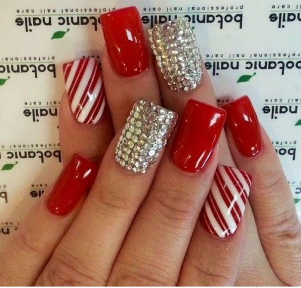 20 awesome holiday nail designs for short nails short nails 20 awesome holiday nail designs for short nails prinsesfo Gallery