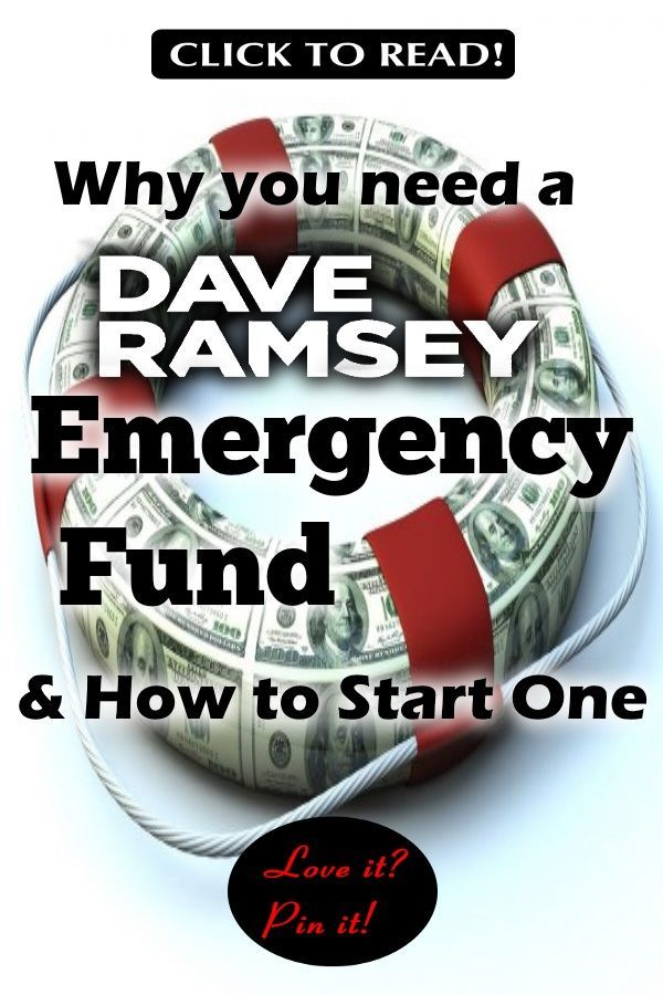 9 Proven Dave Ramsey Emergency Fund Tips You Should Know ...