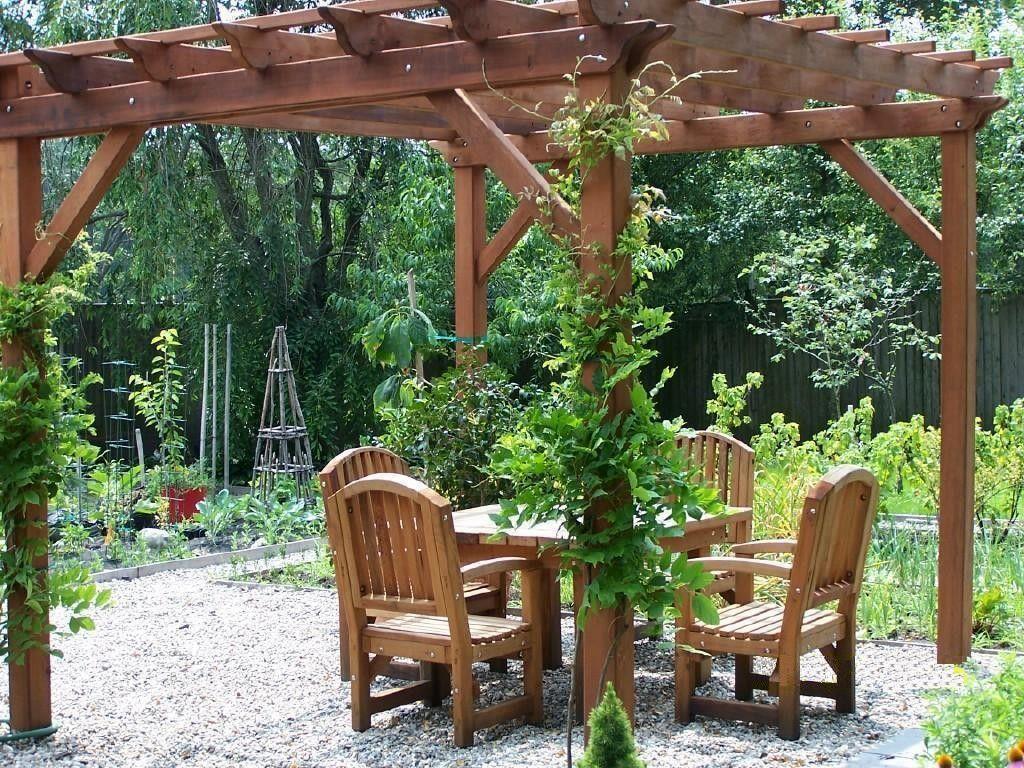 ( Garden Pergola Length : 12 Ft,Garden Pergola Width : 12 Ft