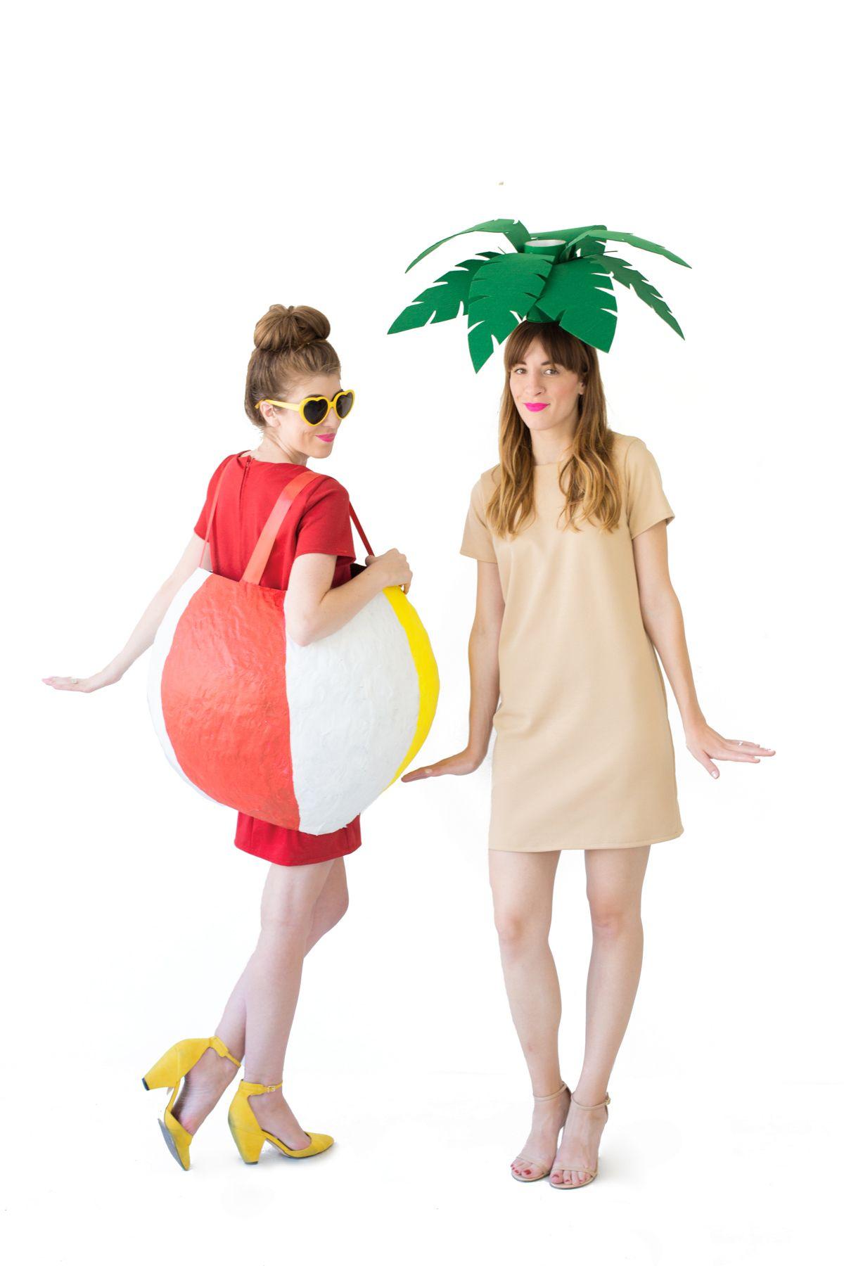 DIY Palm Tree Costume | Recipe | Tree costume, Tree fancy ...