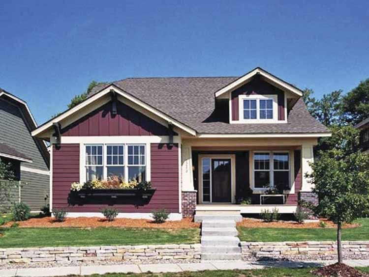 Cottage House Plan with 1598 Square Feet and 1 Bedrooms(s) from ...