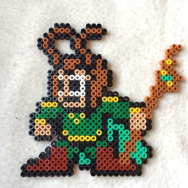 Loki hama beads by l_mzki_creations