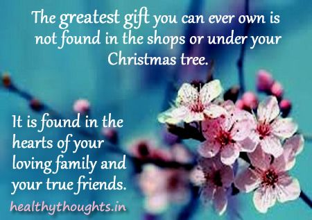 The greatest gift is found in the hearts of your loving family and ...