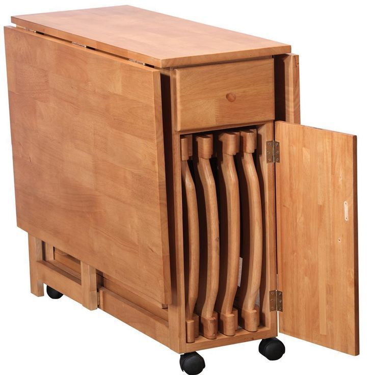 Mid century Danish Walnut hideaway dining set is part of Multipurpose furniture -