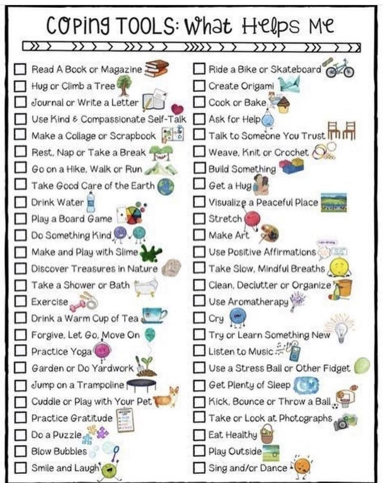 Coping Tools   Kids coping skills, School counseling ...