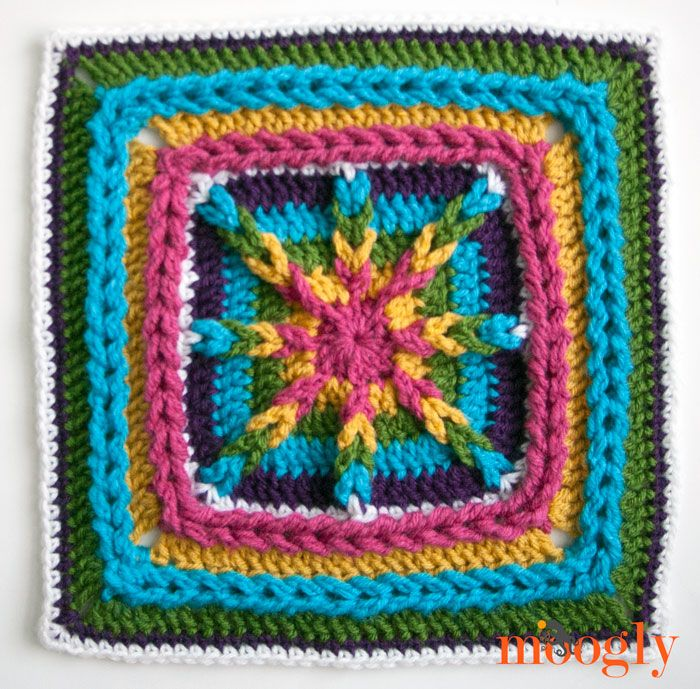 The 2015 Moogly Afghan Crochet-Along: Kicking Things Off and Block ...