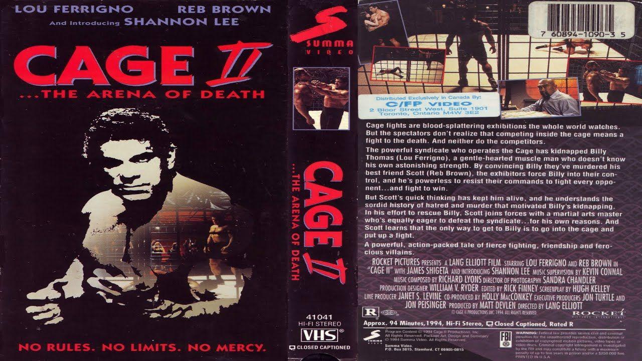 A Arena Da Morte 2 1994 Dublado Lou Ferrigno Reb Brown Shannon Lee Morte Filmes Completos Filmes