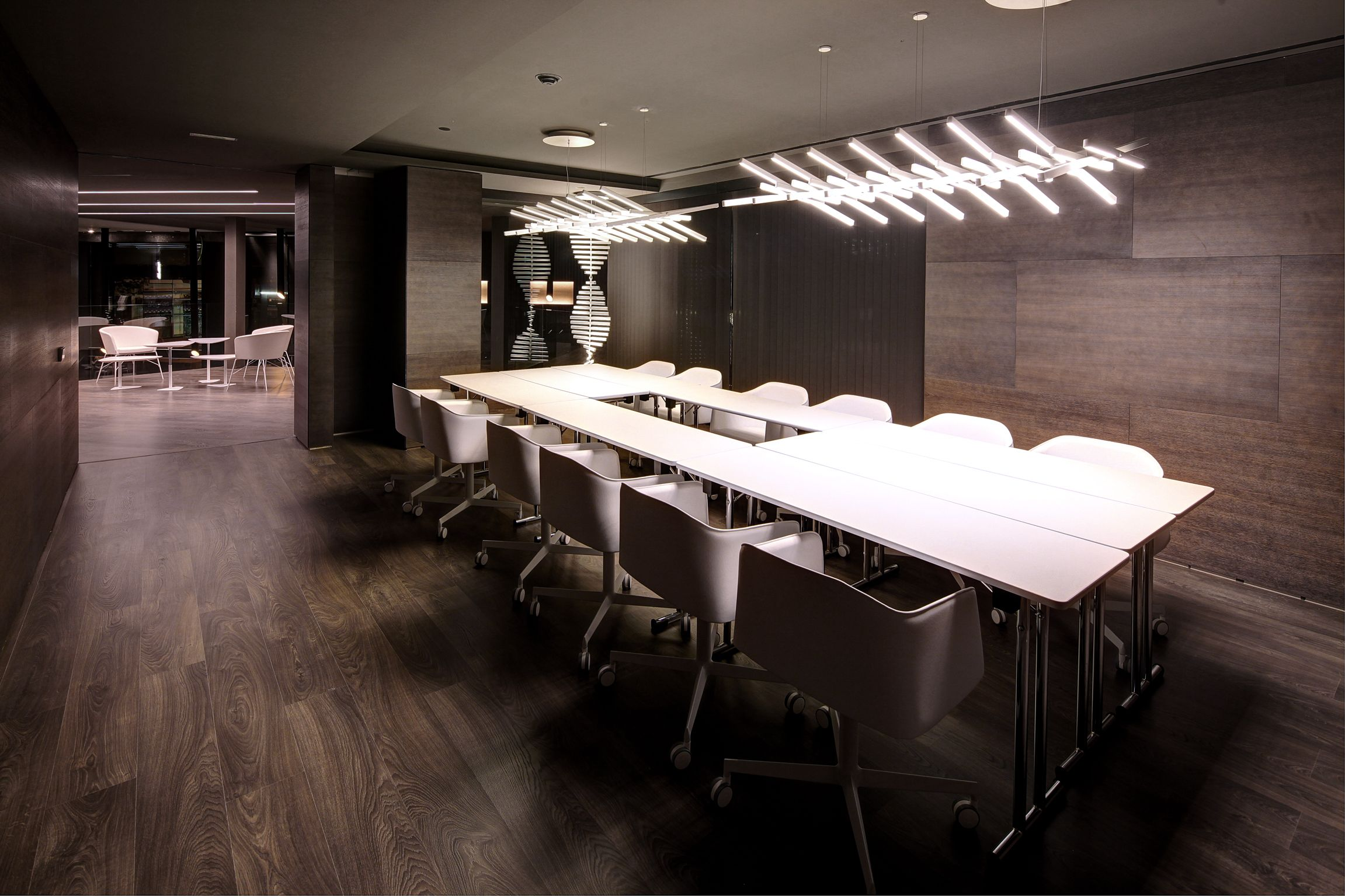 Pin By Vibia On In The Office By Vibia Office Interior