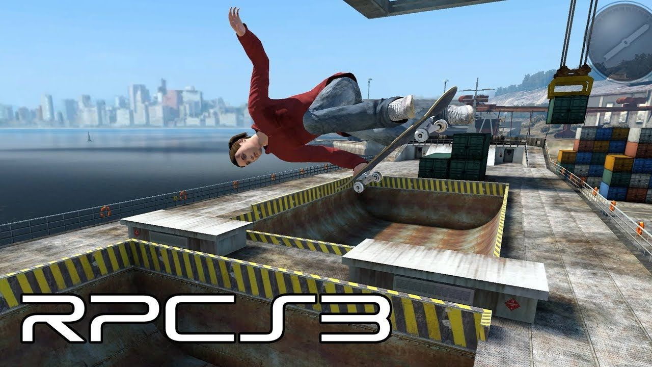 RPCS3 (PS3 Emulator) - Skate 3 Now Playable! (4K Gameplay