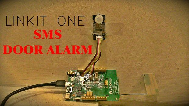 Picture of LinkIt One Texting Door Alarm