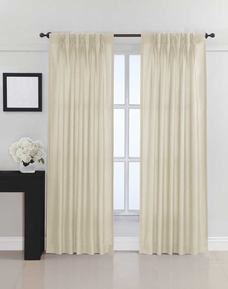 Dkny Broome Pinch Pleat Curtain Panel Curtainworks Com Panel