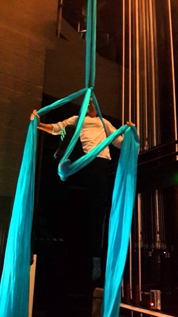 Aerial Silks Practice Belay Star Aerial Silks Aerial Dance