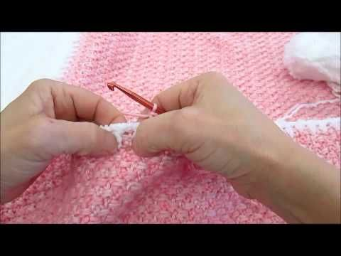 Living Well With Suzique Interlocking Rows Free Crochet Afghan
