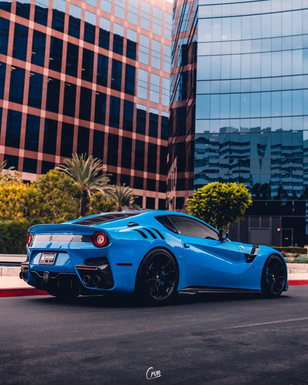 You Re Fortunate To Be Exactly Where You Are Shot For Boden Autohaus Ferrari F12 Tdf Holden Muscle Cars Fast Sports Cars
