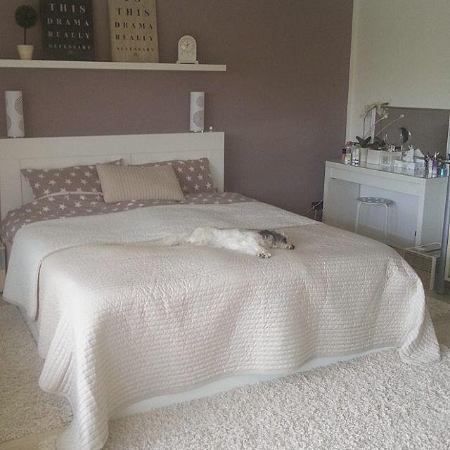 Endlich Ein Neues Bett Ikea Brimnes Bedroom Bett Schlafzimmer