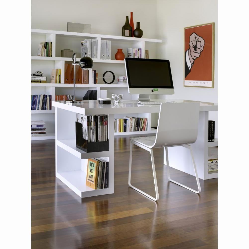 bibliothque bureau intgr design inspirant bureaux meubles et rangements bureau design temahome