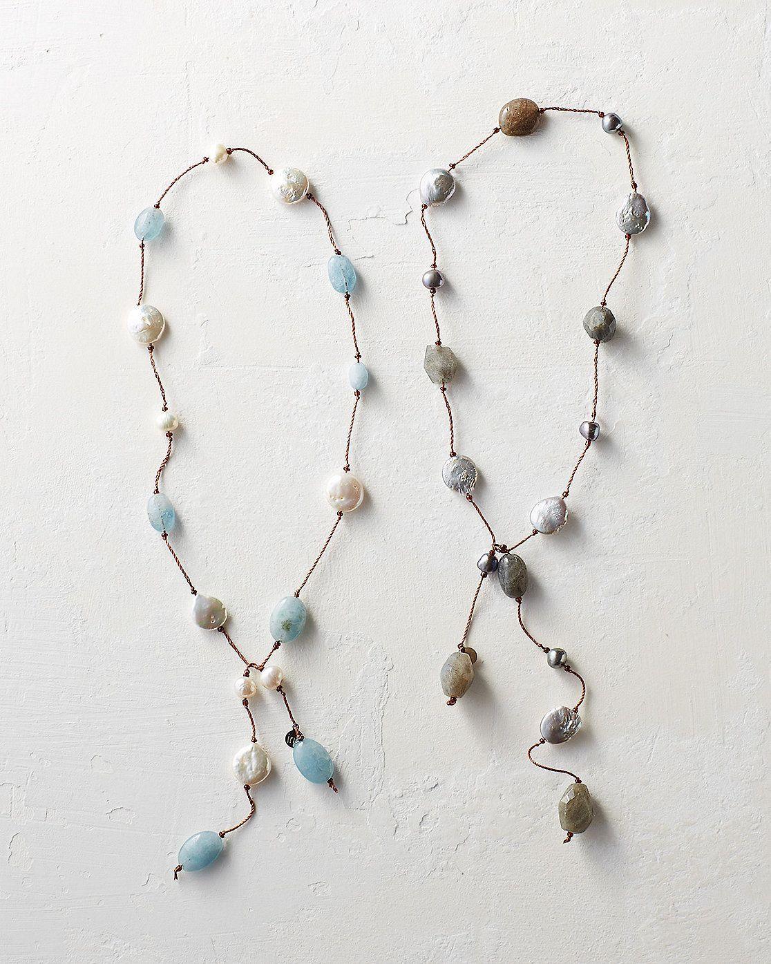 in2 design for Garnet Hill Karin Lariat Necklace Garnet Hill
