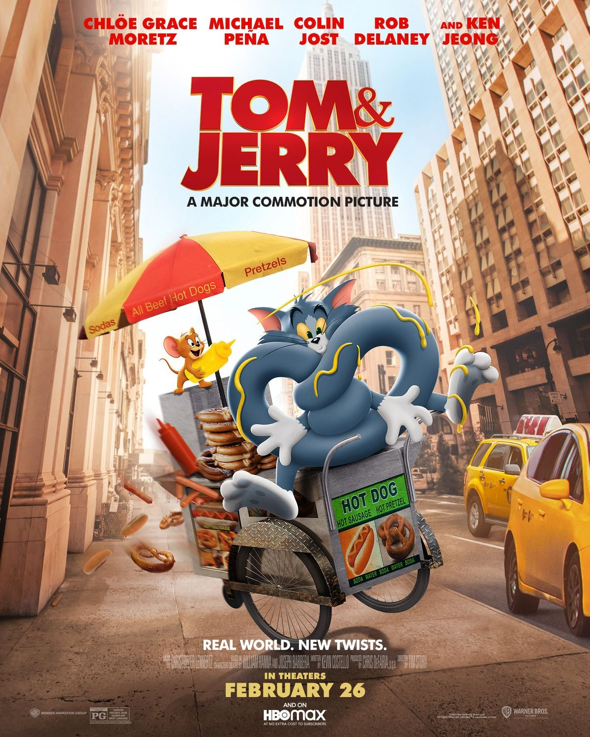 Tom Jerry 2021 New Film Posters In 2021 Tom And Jerry Movies Tom And Jerry Toms