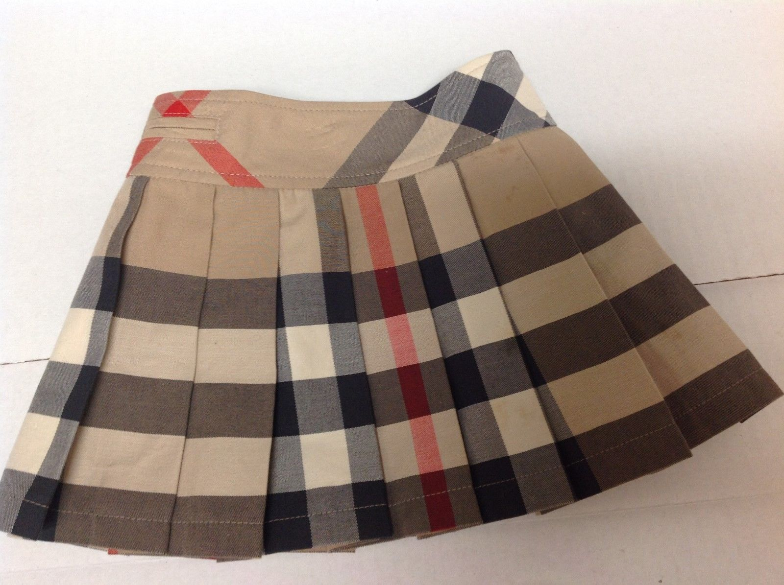 66ca6f0ce4104 Skirts 147214  Burberry Girls Pleated Check Skirt Classic Check (Little  Girls) Size 2Y -  BUY IT NOW ONLY   95 on eBay!