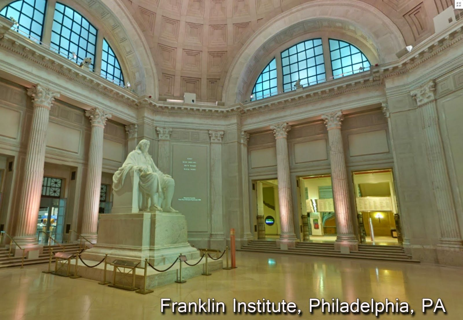 Franklin Institute House styles, Mansions, Tours