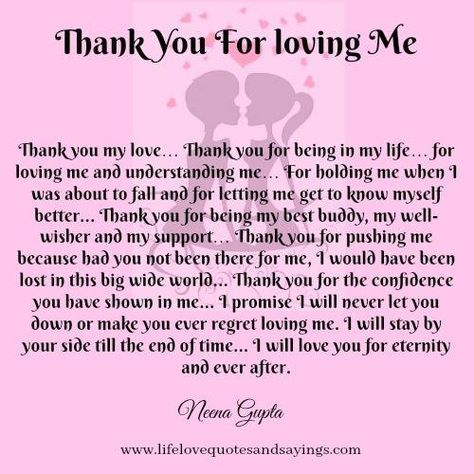 Thank You For Loving Me Quotes Best Thankyouforlovingme 500×500  Angel  Pinterest  Poem