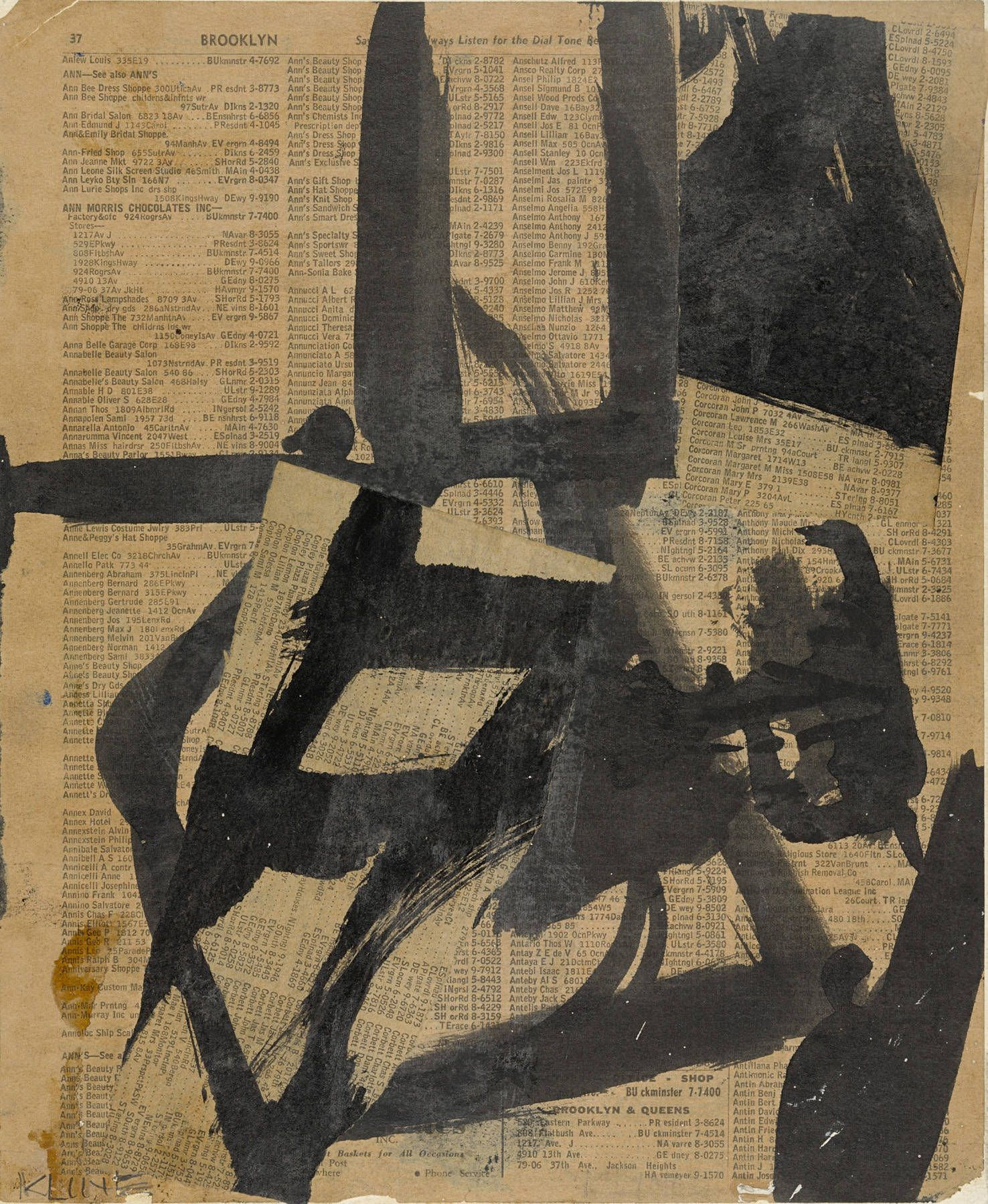 What Makes Abstract Expressionism Art Franz Kline Painting Abstract Expressionist