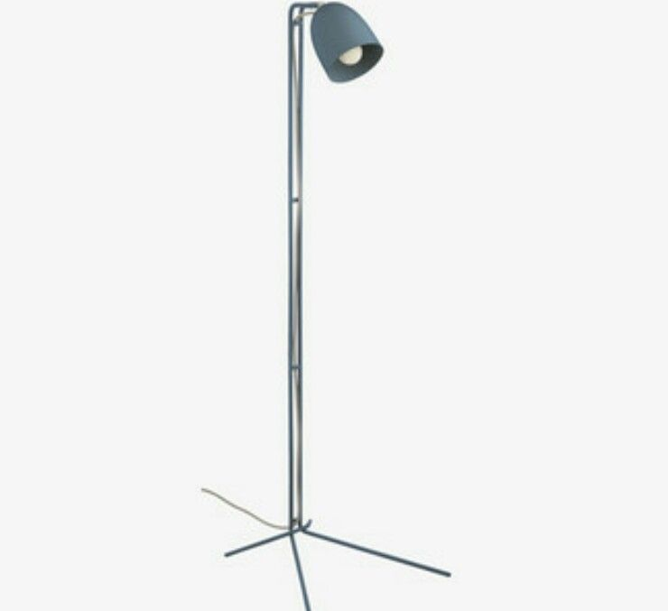 Habitat Grayson Teal Metal Floor Lamp 90 Metal Floor Lamps Lamp Floor Lamp