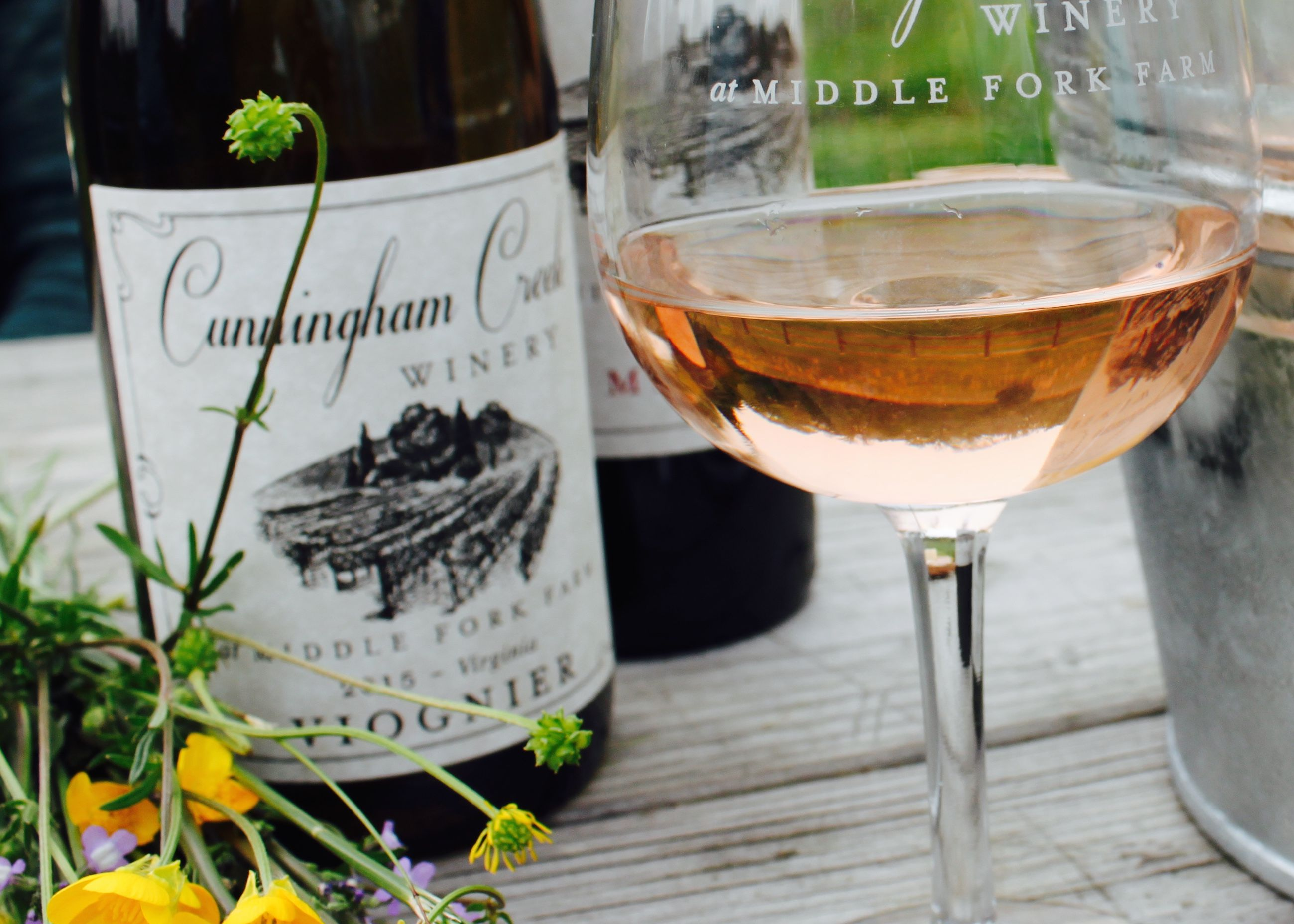 Cunningham Creek Winery, nestled in the beautiful Piedmont region of central Virginia. Tasting room and farm store opening Summer 2016.