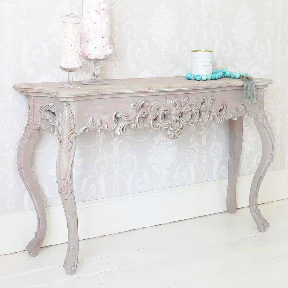 Grace Shabby Chic Console Table French Console Table