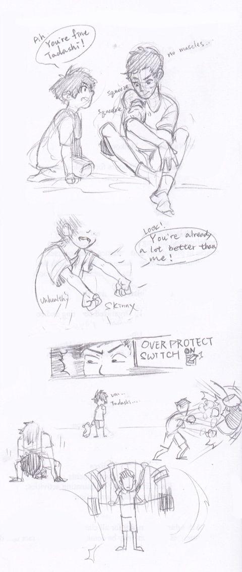 Overprotective Tadashi and baby Hiro   Big Hero 6   Big hero 6