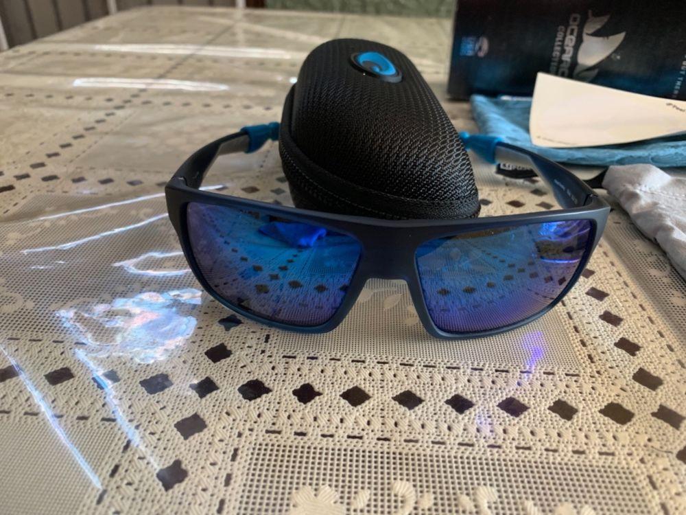5cf3cd1fd2 NEW Costa Del Mar BLOKE Bahama Blue Fade   580 Blue Mirror Glass 580G   fashion  clothing  shoes  accessories  mensaccessories ...