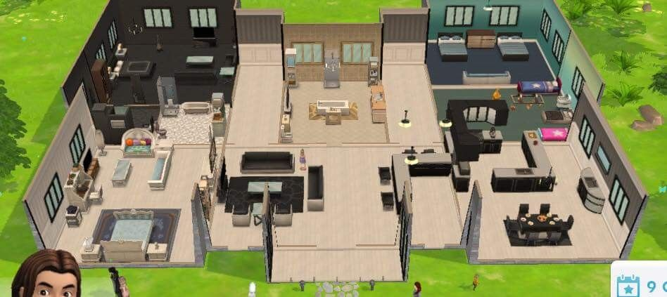 Pin By Sims Online On The Sims Mobile Homes Sims House Sims House Design