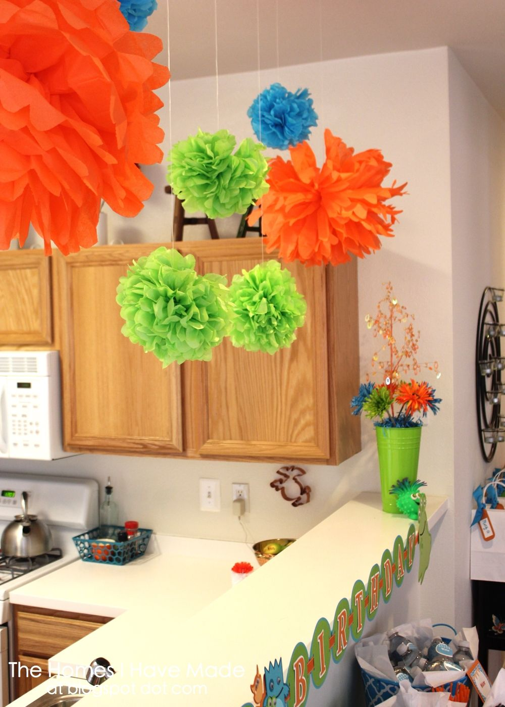 The Homes I Have Made A Monster Of First Birthday Party