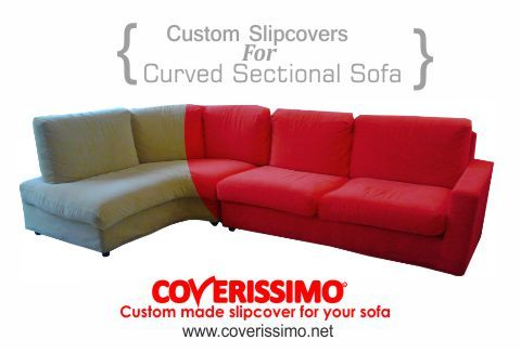 Merveilleux Are You Looking For A Manufacturer Of Custom Slipcovers For Curved  Sectional Sofa? Coverissimo Is
