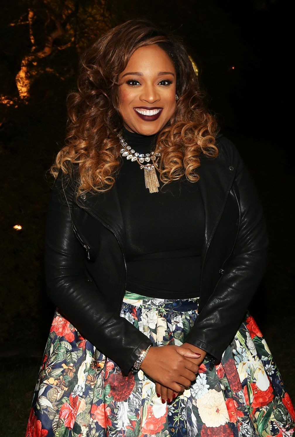 Kierra Sheard Looks Beautiful As She Gets Ready To Perform At The ...