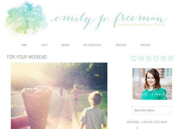 StudioPress Showcase Otro blog más con estructura que me gusta