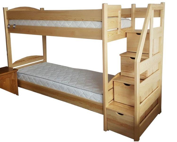 łóżko Piętrowe Ze Schodkami Franio Prezentygifts Pinterest